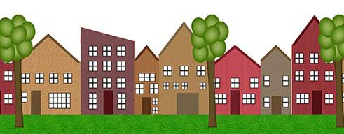 Houses graphic