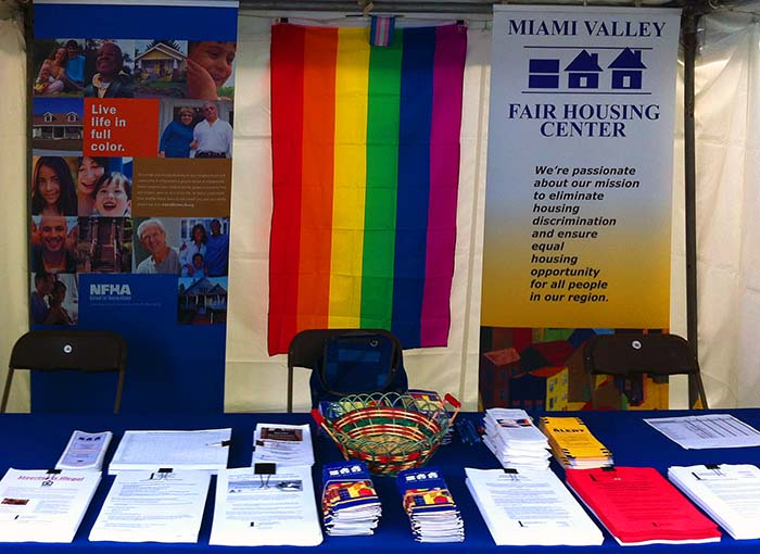 MVFHC booth from Pride 2014