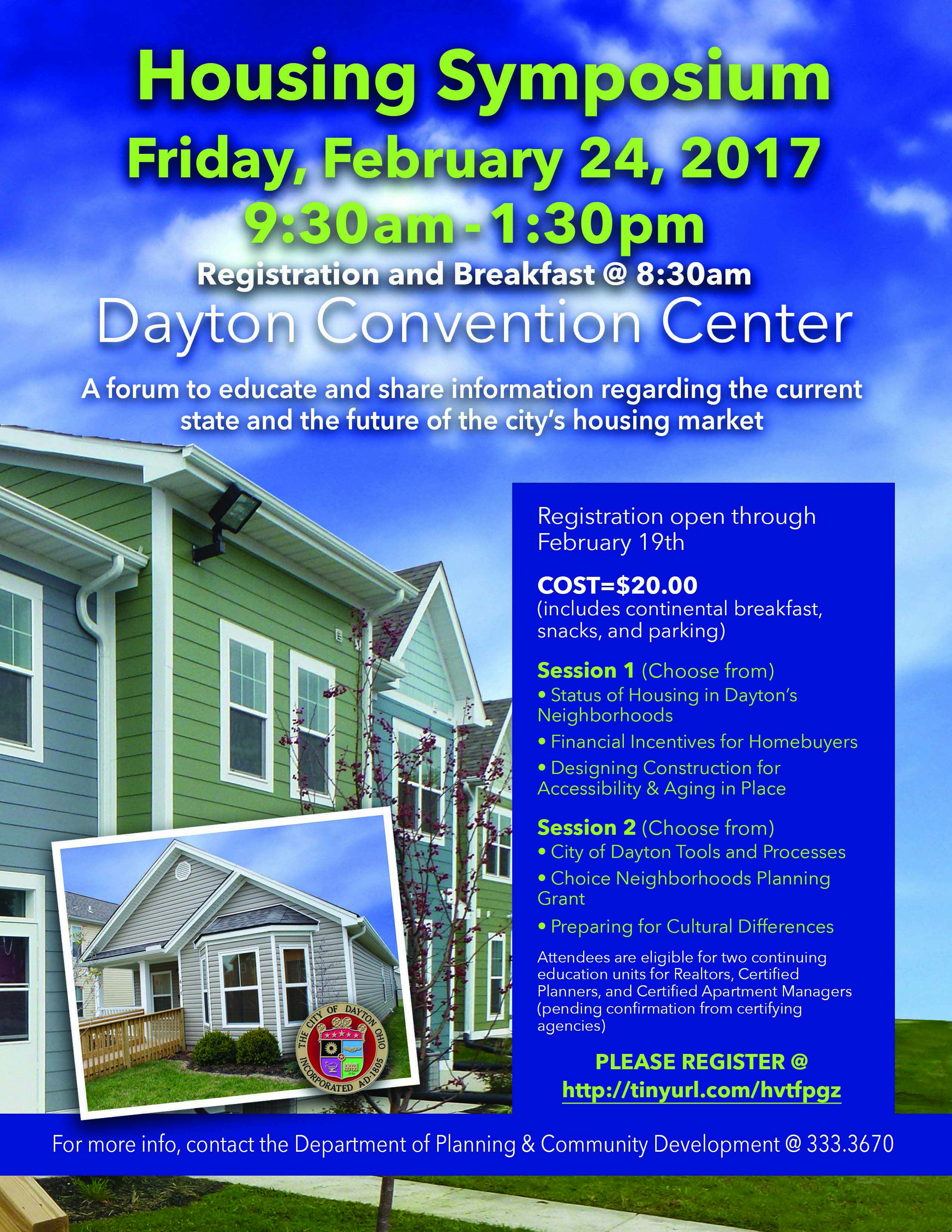 Housing Symposium Flyer