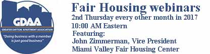2017 GDAA fair housing webinars